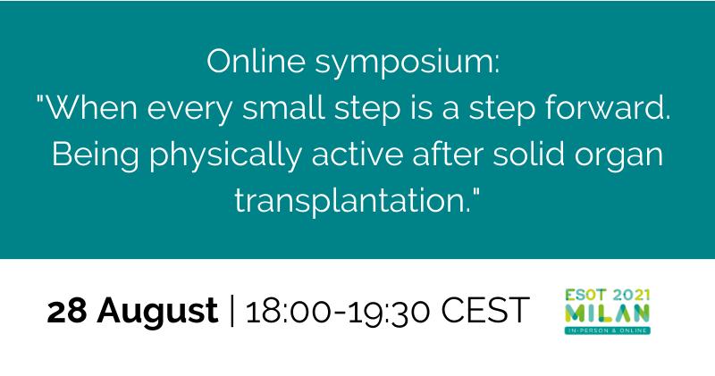 Online symposium ESOT ETPO 28th August